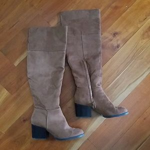 Brash Shoes - Brash thigh high boots 9 over knee